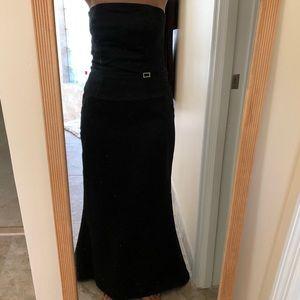 Dressy creations two piece bridal/prom dress